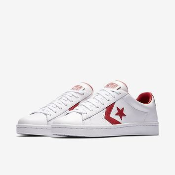 The Converse Pro Leather Low Top Unisex Shoe.