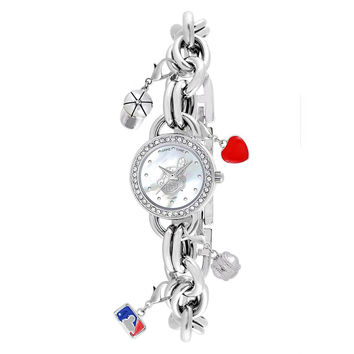 Cleveland Indians MLB Women's Charm Series Watch
