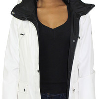 Jessica Simpson Women's Soft Shell Anorak Jacket Coat