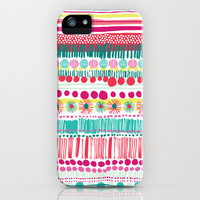 spots & stripes iPhone & iPod Case by Bethan Janine