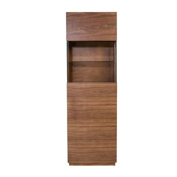 Shaw Display Cabinet in American Walnut
