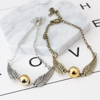 Vintage Angel Wings Bracelet