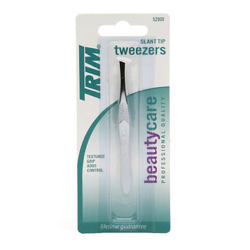 Trim Beauty Care Slant Tip Tweezers | Walgreens