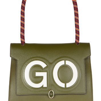 Anya Hindmarch - Bathurst GO small textured-leather tote