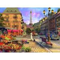 Ravensburger Vintage Paris Jigsaw Puzzle - Puzzle Haven