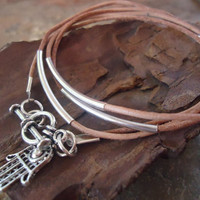 TENDER IN NATURE leather wrap bracelet & Fatima's by AsaiBolivien 8,90 US$
