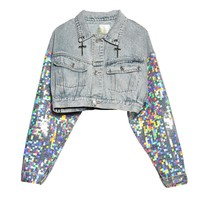 Sequins Short Jacket