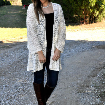 She is Loved Cardigan