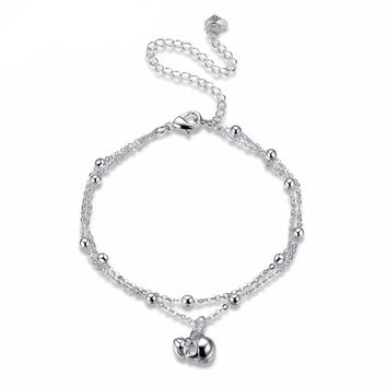 Skull 💀 Head Charm Anklet Jewelry