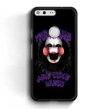 Five Nights At Freddy S The Marionette Google Pixel Case