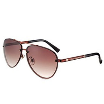 Dolce and Gabbana Pilot Brown Frame Sunglasses 308193