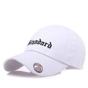 Sports Hat Cap trendy  Fashion Snapback Recreation Retro Baseball Cap Alphabet Male Ladies Truck Driver  An alphabet embroidered hat KO_16_1