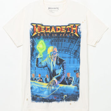 Megadeth Rust In Peace T-Shirt at PacSun.com
