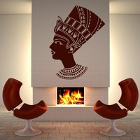 Wall Decal Sticker Egypt Face Head Antique Old  z210