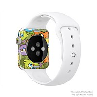 The Colorful Highlighted Cartoon Birds Full-Body Skin Set for the Apple Watch