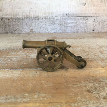 Cannon Brass Cannon Toy Cannon Cannon Paperweight Miniature Ships Cannon Fort Cannon Civil War Souvenir Collectible Figurine