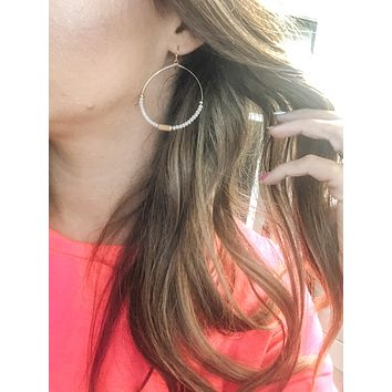 Girly Hoop Earrings