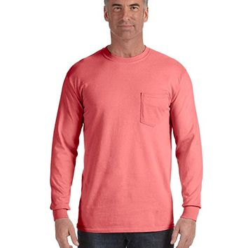 6.1 Oz. Long-Sleeve Pocket T-Shirt (C4410)