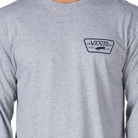 Full Patch Back Long Sleeve T-Shirt | Shop At Vans