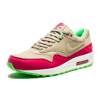 NIKE AIR MAX 1 ESSENTIAL - BAMBOO/POISON GREEN/WHITE/FUCHSIA FORCE | Undefeated