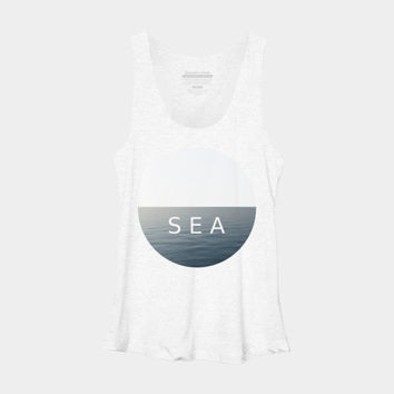 SEA Racerback By ARTbyJWP Design By Humans