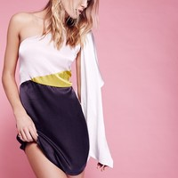 Free People Mandy Colorblock Mini Dress
