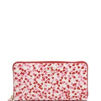 kate spade new york Secret Admirer Confetti Print Lacey Wallet | Bloomingdales's
