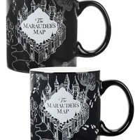 Harry Potter Marauder's Map Heat Reveal Mug