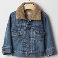 Gap 1969 Sherpa Denim Jacket