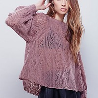 Free People Womens Lights Will Shine Pullover