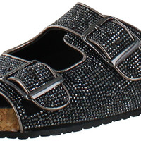 Steve Madden Rivett Women's Slip On Buckle Sandals