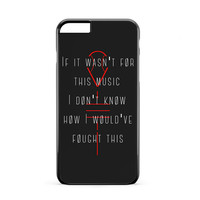 Twenty One Pilots lane Boy Lyric iPhone 6s Plus Case