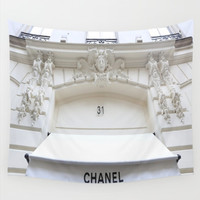 31 Rue Cambon Chanel Store in Paris Wall Tapestry