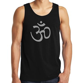 Yoga Clothing for You Mens Aum Ohm Symbol Tank Top Shirt