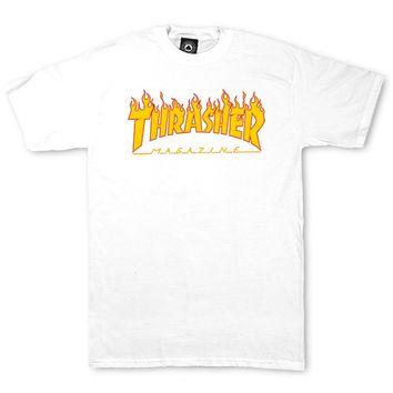 Flame Logo T-Shirt (White)