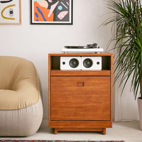 Menlow Vinyl Storage Cabinet - Urban Outfitters