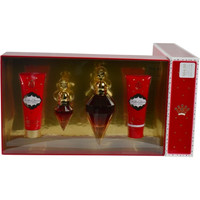 KILLER QUEEN by Katy Perry EAU DE PARFUM SPRAY 3.4 OZ & BODY LOTION 2.5 OZ & SHOWER GEL 2.5 OZ & EAU DE PARFUM SPRAY .5 OZ MINI