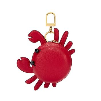 Tory Burch Carl The Crab Pouch Key Fob