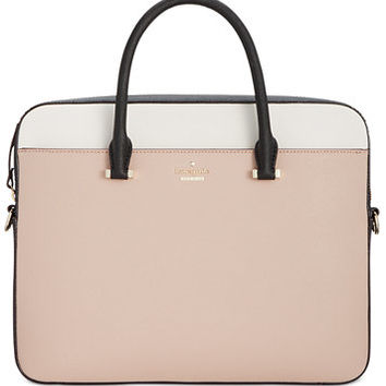 kate spade new york 13-Inch Saffiano Laptop Bag | macys.com