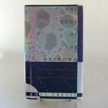 The Edge of the Unknown Chemistry Biology Physics Geology Astronomy Cosmos Vintage Book Scientist Education Teacher Student