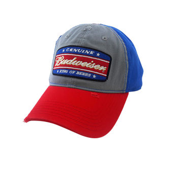 Budweiser King of Beers Blue Licensed Snapback CAP