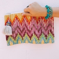 Florence Zip Pouch - Multi