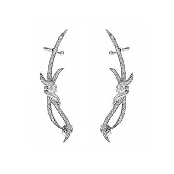 Barbed Wire Ear Cuff Earrings