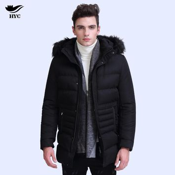 HAI YU CHENG Winter Jacket Parka Men Winter Coat Men Male Jacket Parkas Military Anorak Mens Winter Jackets Quilted Puffer 7861