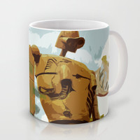Castle in the Sky * El Castillo en el cielo * Ghibli Inspiration Mug by Freak Shop