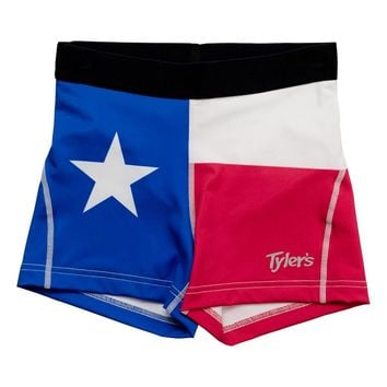Women's TYLER'S Texas Flag Pro Shorts