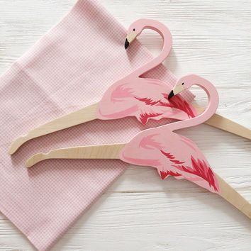 Hanger for Home Decor, Hanger for Baby Girl, Princess, Flamingo, Pink, Pastel