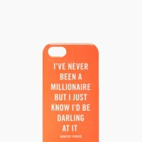 millionaire quote iphone 5 case - kate spade new york