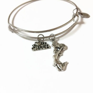 Great piece cheerleader bracelet