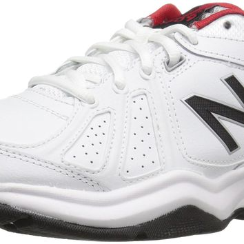 new balance men s mx409v3 cross trainers white black 11 5 d m us